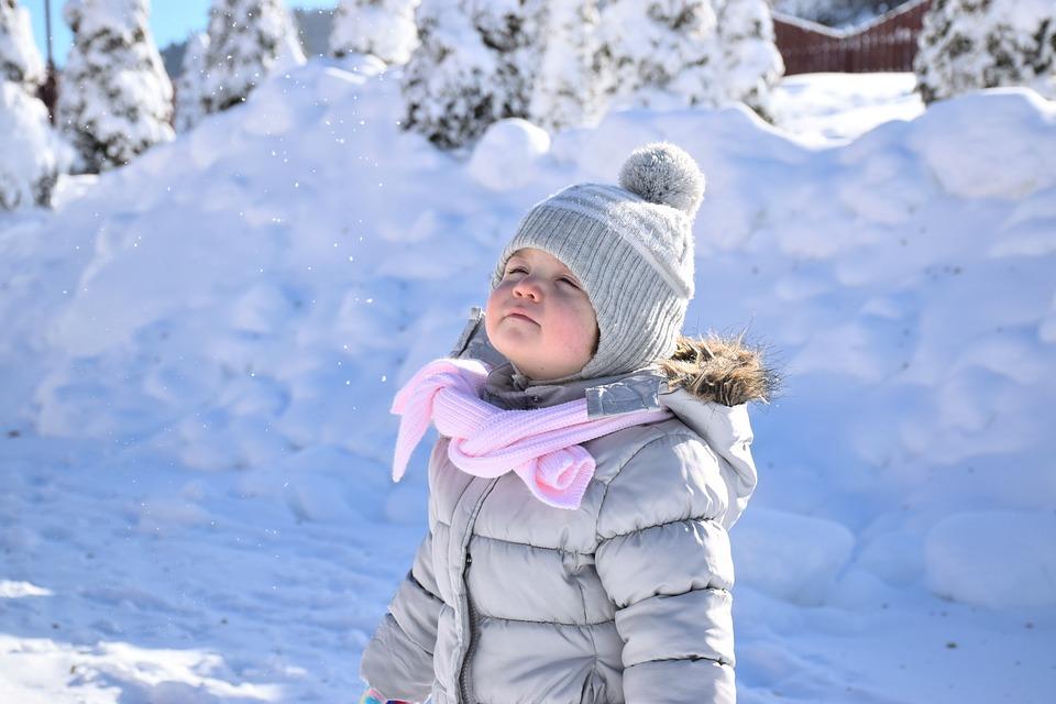 vestire i bambini in inverno