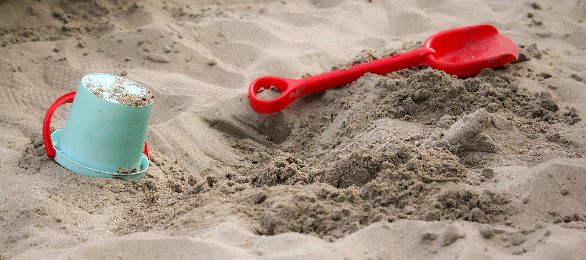 Giochi in spiaggia per bambini